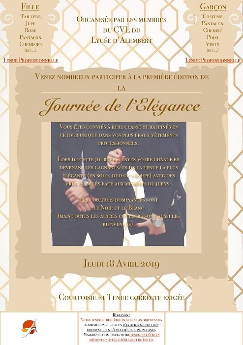 fête de l'élégance_lycée d'Alembert Paris