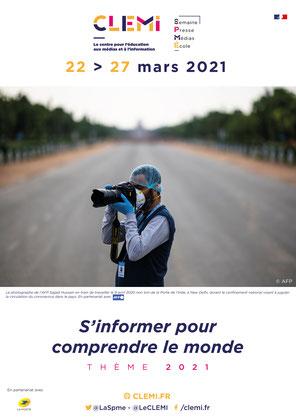 Semaine de la Presse et des Médias du 22 au 27 mars 2021